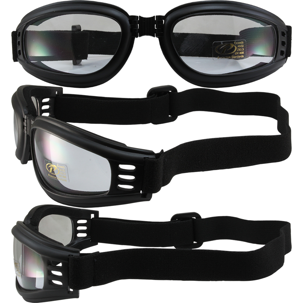 Nomad floating Foldable Clear Lens with Uv 400 Protection