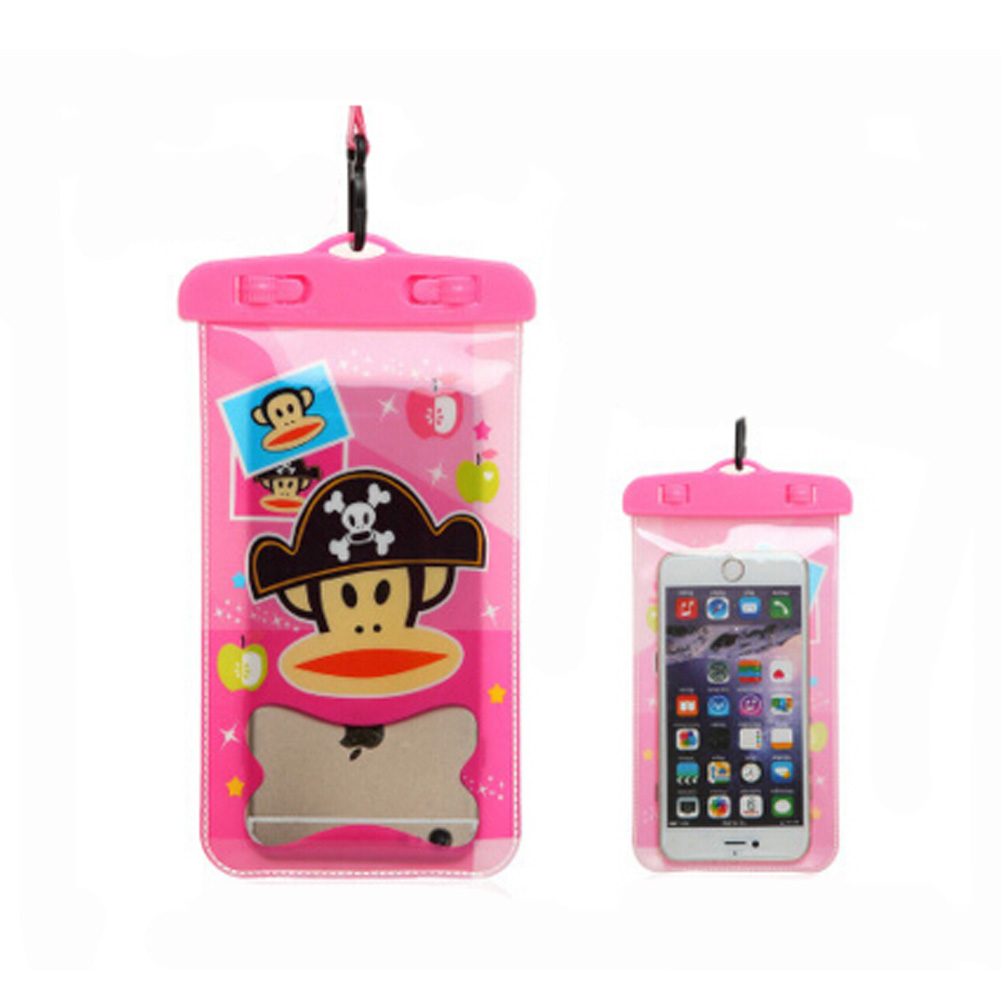 Monkey,Waterproof Cell Phone Case Dry Bag Pouch for Phone/iPhone 6/Any Phone