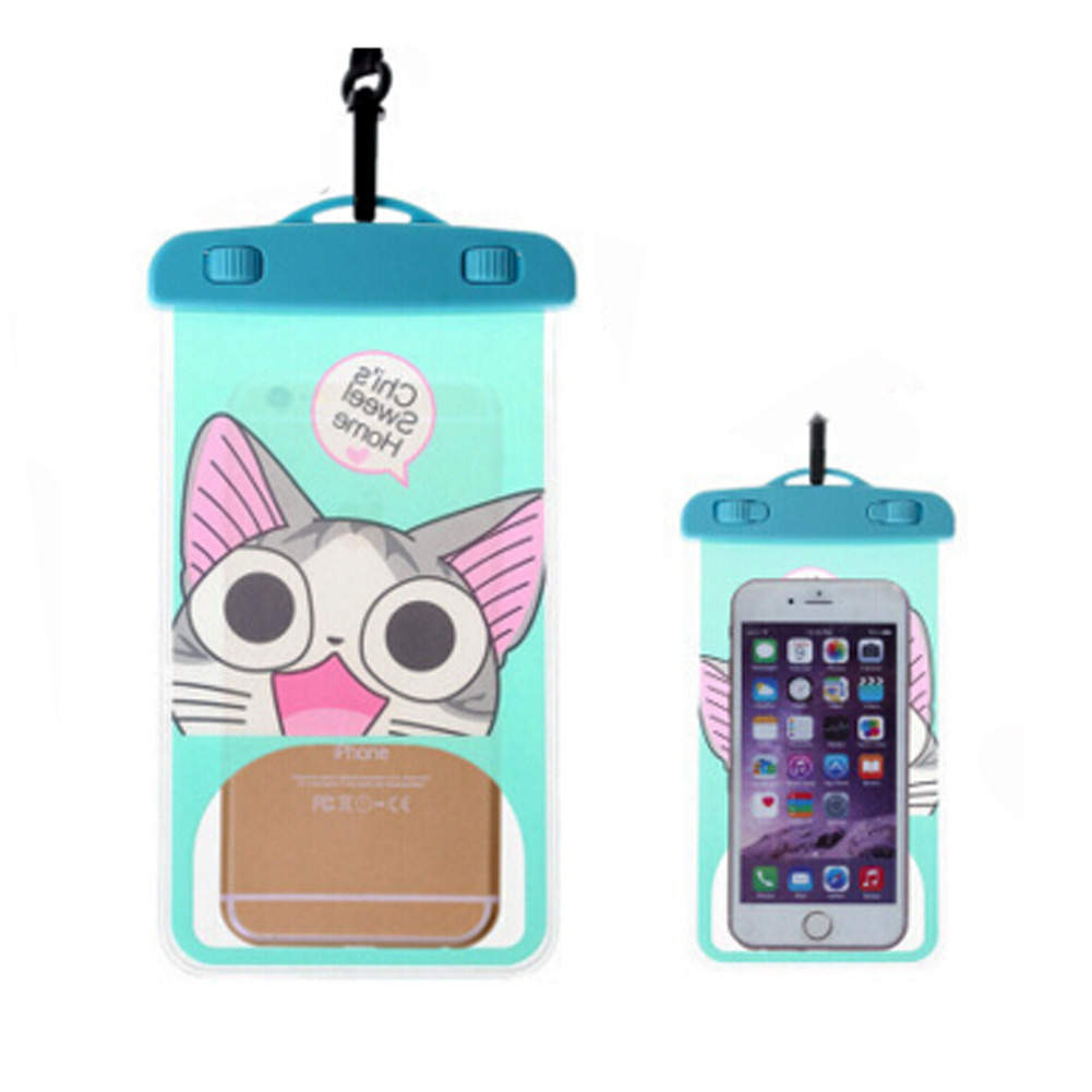Cat,Waterproof Cell Phone Case Dry Bag Pouch for Phone/iPhone 6/Tout tlphone