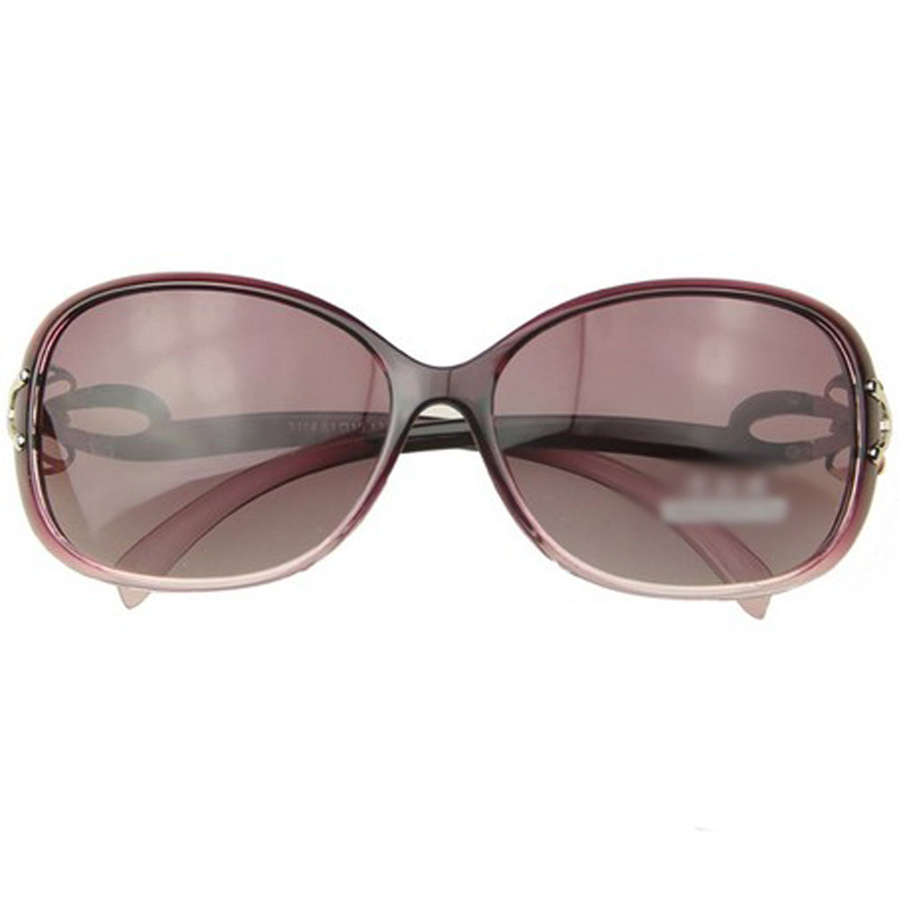 Fashion Bows Sun Protection Sunglasses Outdoor Activities-use Burgundy Eyewear