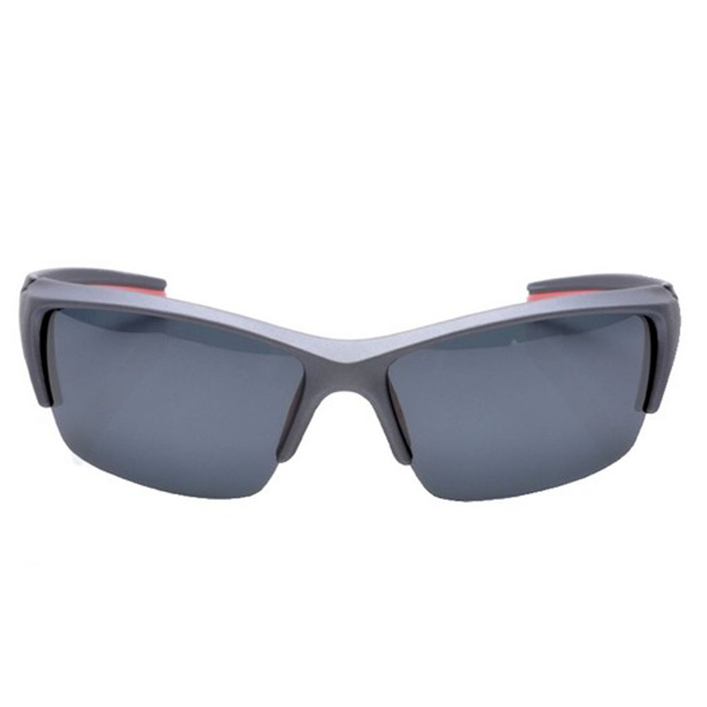 Cycling Gray Frame Gray Lens Sunglasses Outdoor Activity Sun Protection Eyewear