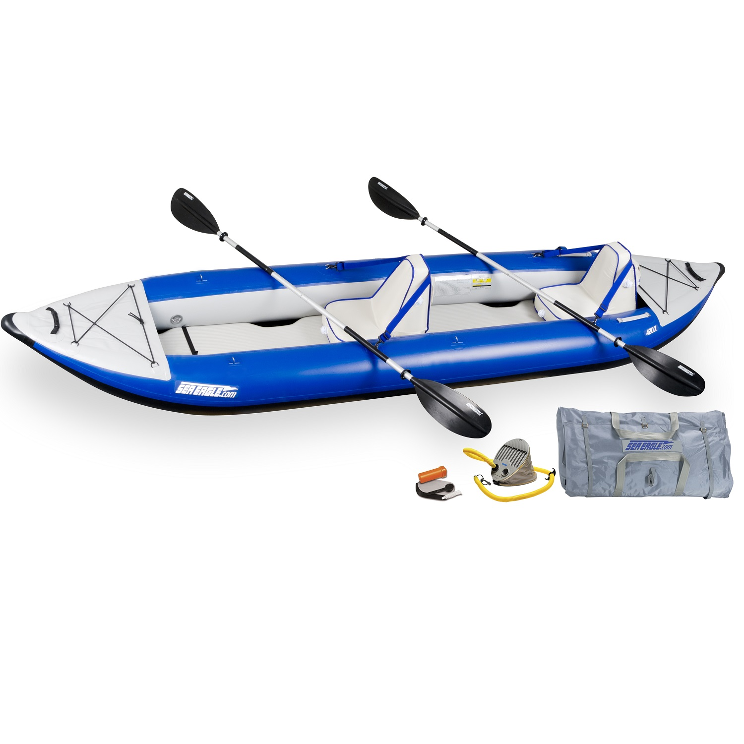 Sea Eagle Explorer Inflatable Kayak 420XK Deluxe